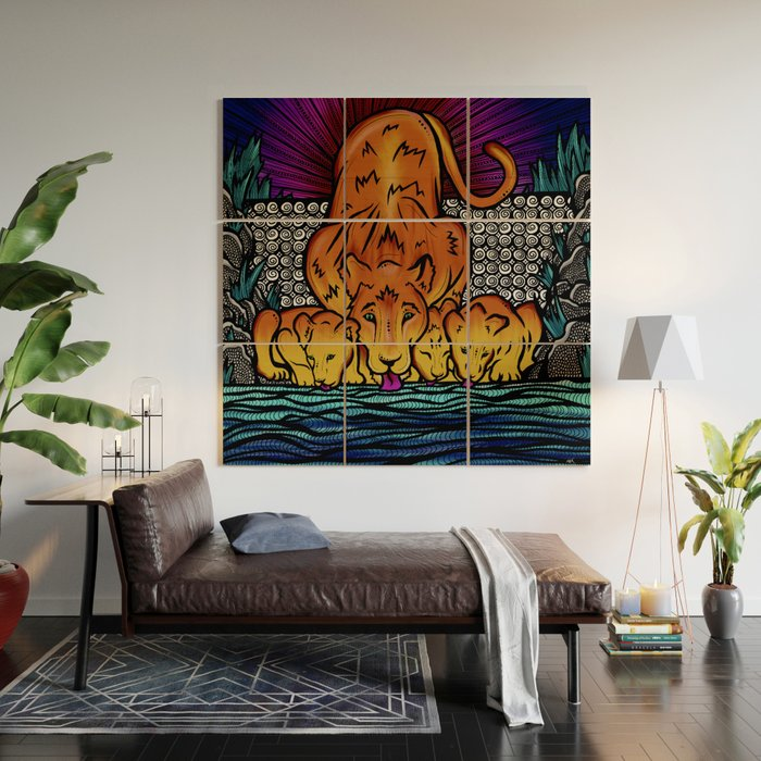 fierce-mother-the-lioness-wood-wall-art