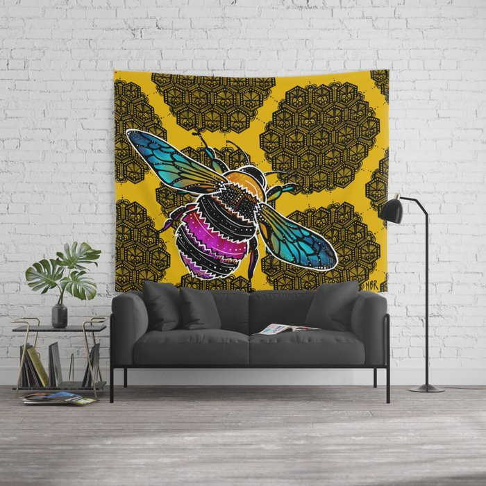 honeybee-lace-tapestries
